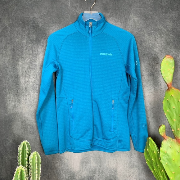 Patagonia Jackets & Blazers - Patagonia R1 Full Zip Fleece Jacket Teal Small S